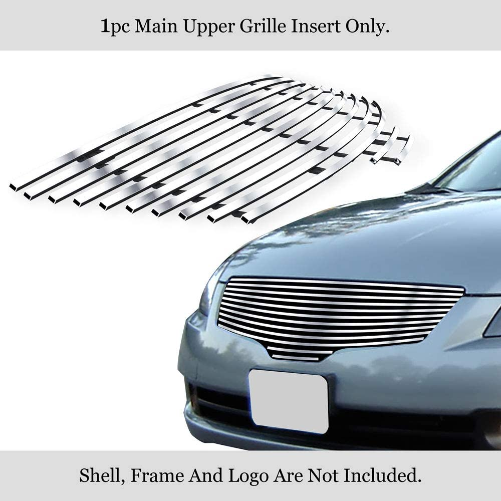 APS N86880H Black Powder Coated Grille Replacement for select Nissan Altima Models