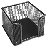 Wholesale CASE of 25 - Lorell Mesh Memo Holder -Memo Holder, 3''x3'', Mesh/Black