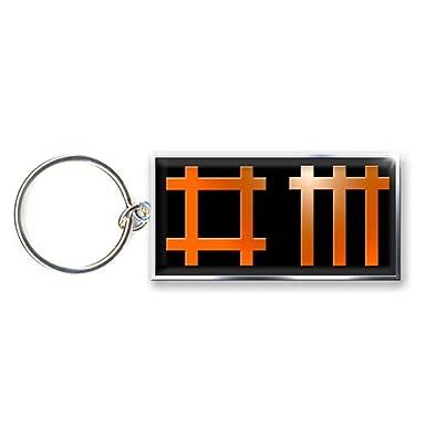 Amazon.com: Depeche Mode Llavero banda logotipo oficial ...