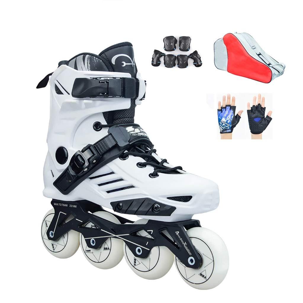 YANGXIAOYU Rollschuhe, Rollschuhe Für Mädchen Anzüge Konsolenstärke 3mm 3mm 3mm Schwarz Weiß Geeignet Für Erwachsene Jugendliche B07QSR5XLS Rollschuhe Zu verkaufen 2c411e