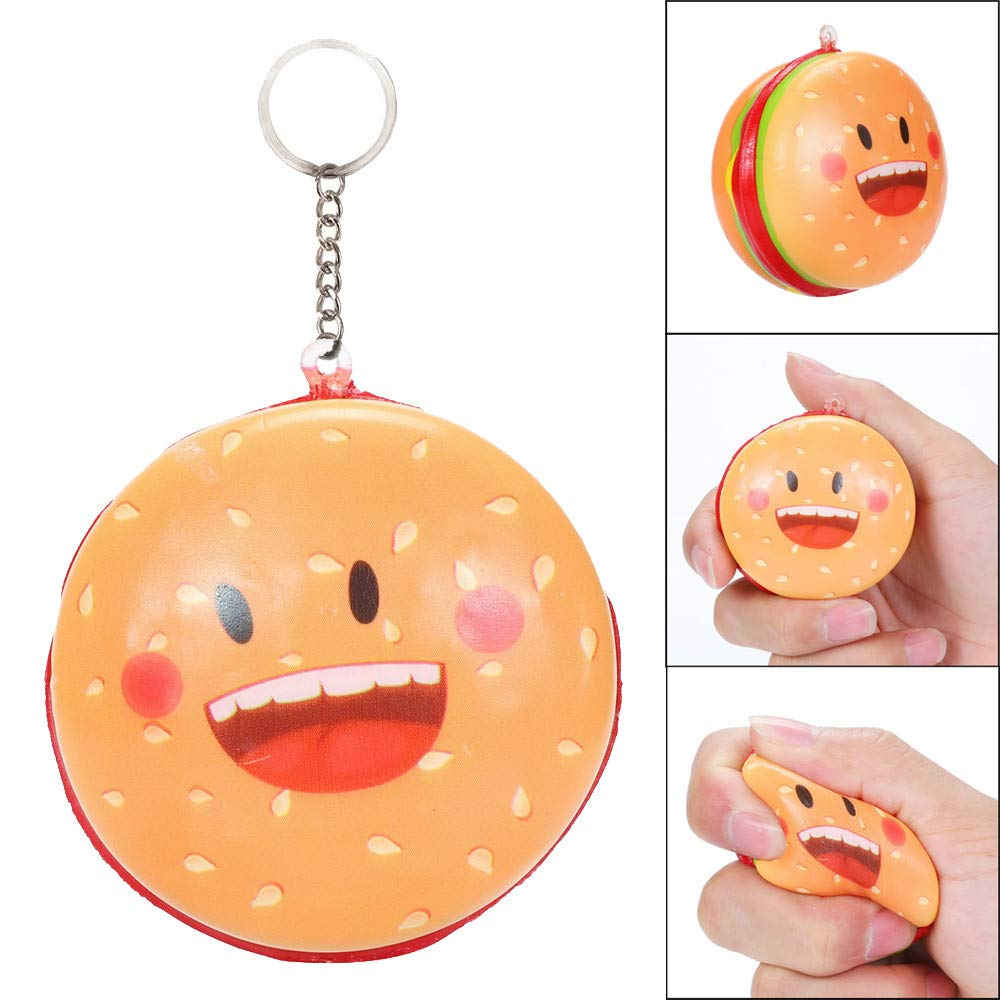 Amazon.com: PSFS Squishies Hamburger Decompression Toys,Slow ...
