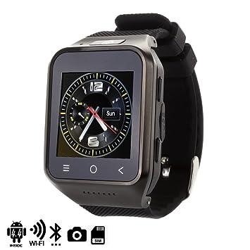 DAM - Smartwatch Ártemis Plus Black. Cámara de fotos/video incorporada de 2.0mpx de resolución. Posibilidad de añadir tarjeta SIM. Memoria RAM de ...