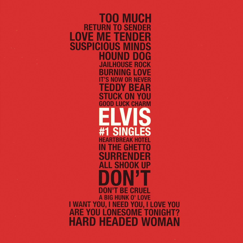 Elvis #1 Singles by Sony Legacy