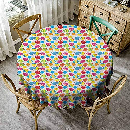 Rank-T Round Tablecloth 60