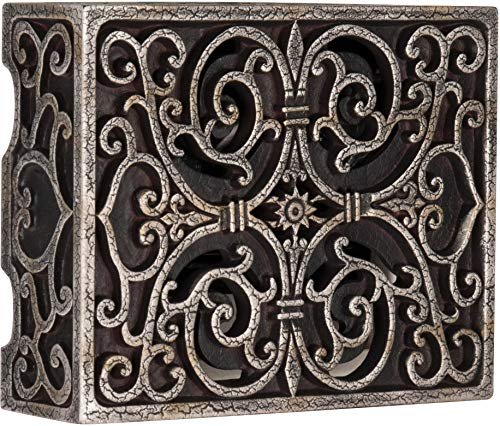 Craftmade CAB-RC Designer Carved Box Door Chime, Hand Painted Renaissance Crackle (6.75