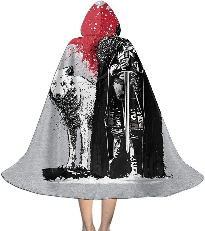 NUJSHF - Capa con Capucha para Disfraz de Juego de Tronos, El Rey ...