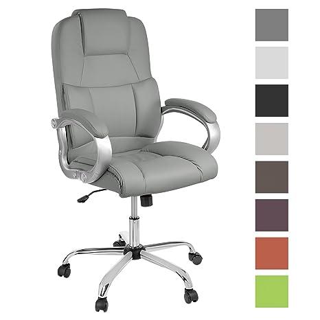 Tpfliving Confortable Premium Xxl Chaise De Bureau Denver Charge