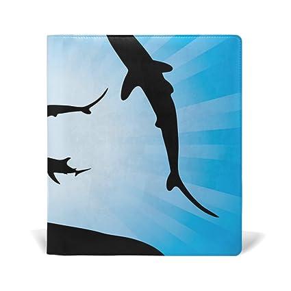 AURELIOR libro estirable tiburones vector bajo el agua y la luz ...