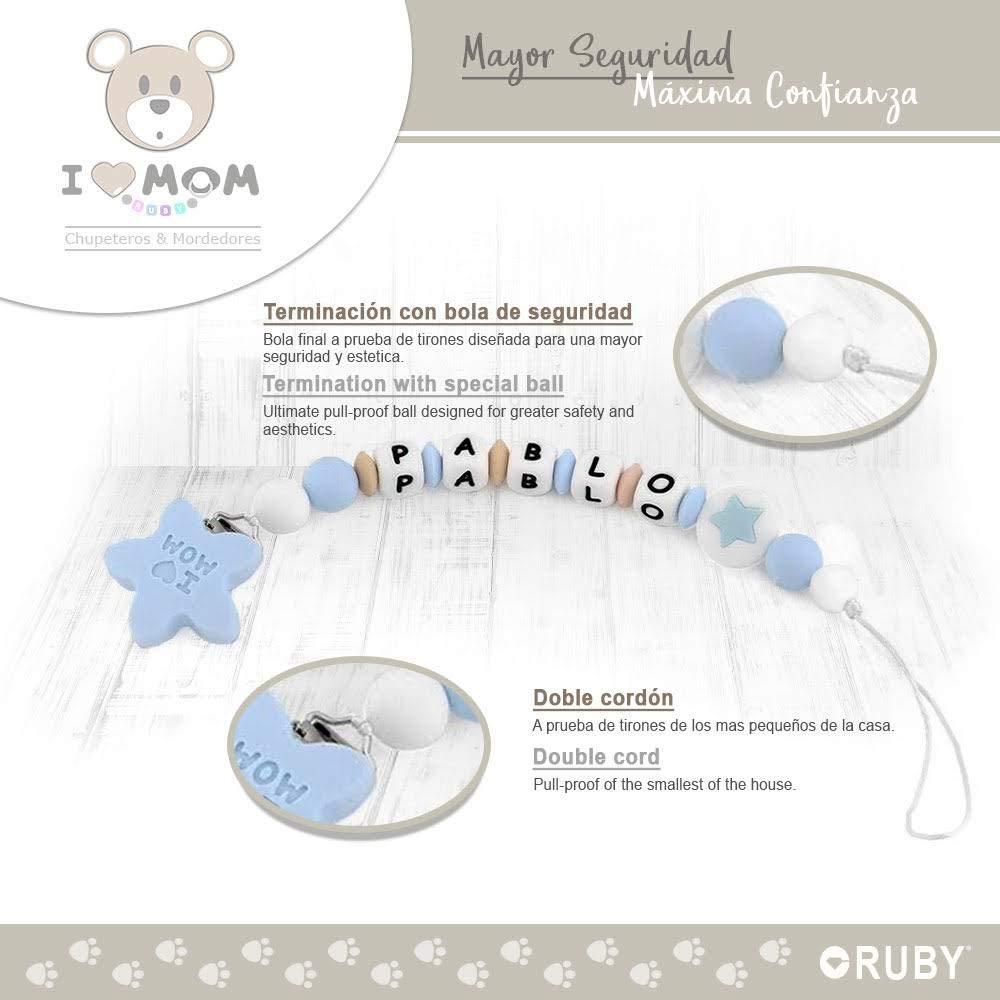 RUBY - Chupetero Personalizado