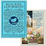 【幸せの青い鳥 】ブルーバード・ルノルマンカード 日本語解説書付き