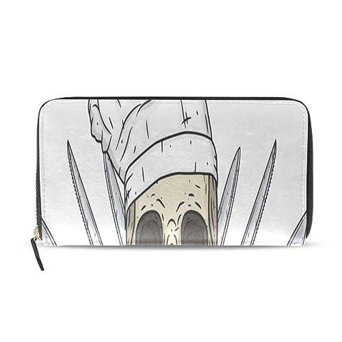 Cráneo dibujos animados Toque Cuchillo Pasaporte largo ...
