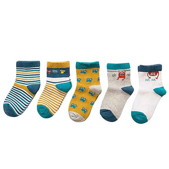 Amazon.com: Traje para niños de 0 a 3 años, calcetines de ...