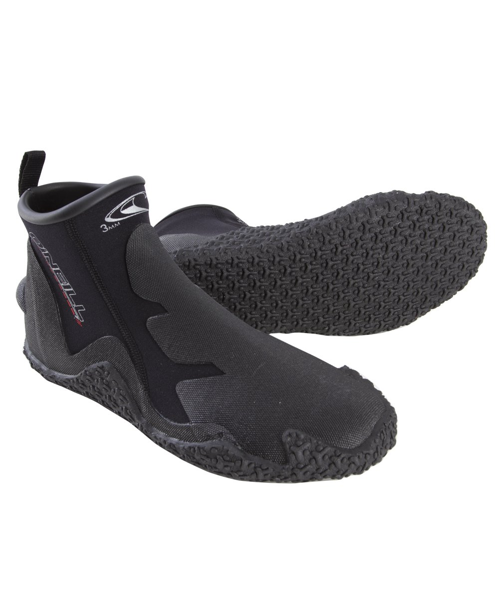 O'Neill Men's Dive Tropical 3mm Booties, Black, 13 by O'Neill Wetsuits