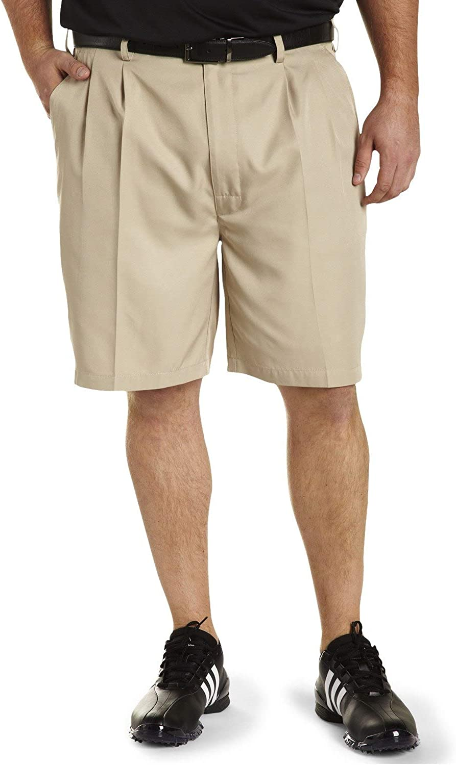 Reebok Golf Speedwick Continuous Comfort Pleated Shorts