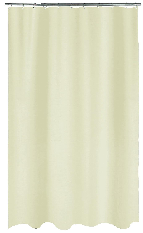 Spirella 10.19295 Tenda da Doccia con Maya, Tenda da Doccia, Tessuto, Sabbia, 180 x 200 cm 180x 200cm