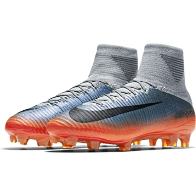 214197fac2d5 Nike Mercurial Superfly V Cr7 FG Mens Football Boots 852511 Soccer Cleats   Amazon.co.uk  Shoes   Bags