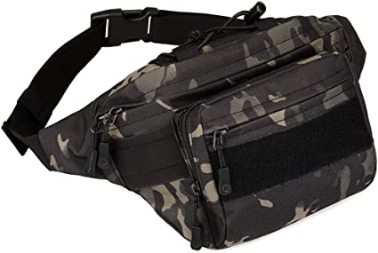 Gold Compass Sport Waist Pack Fanny Pack Adjustable For Travel