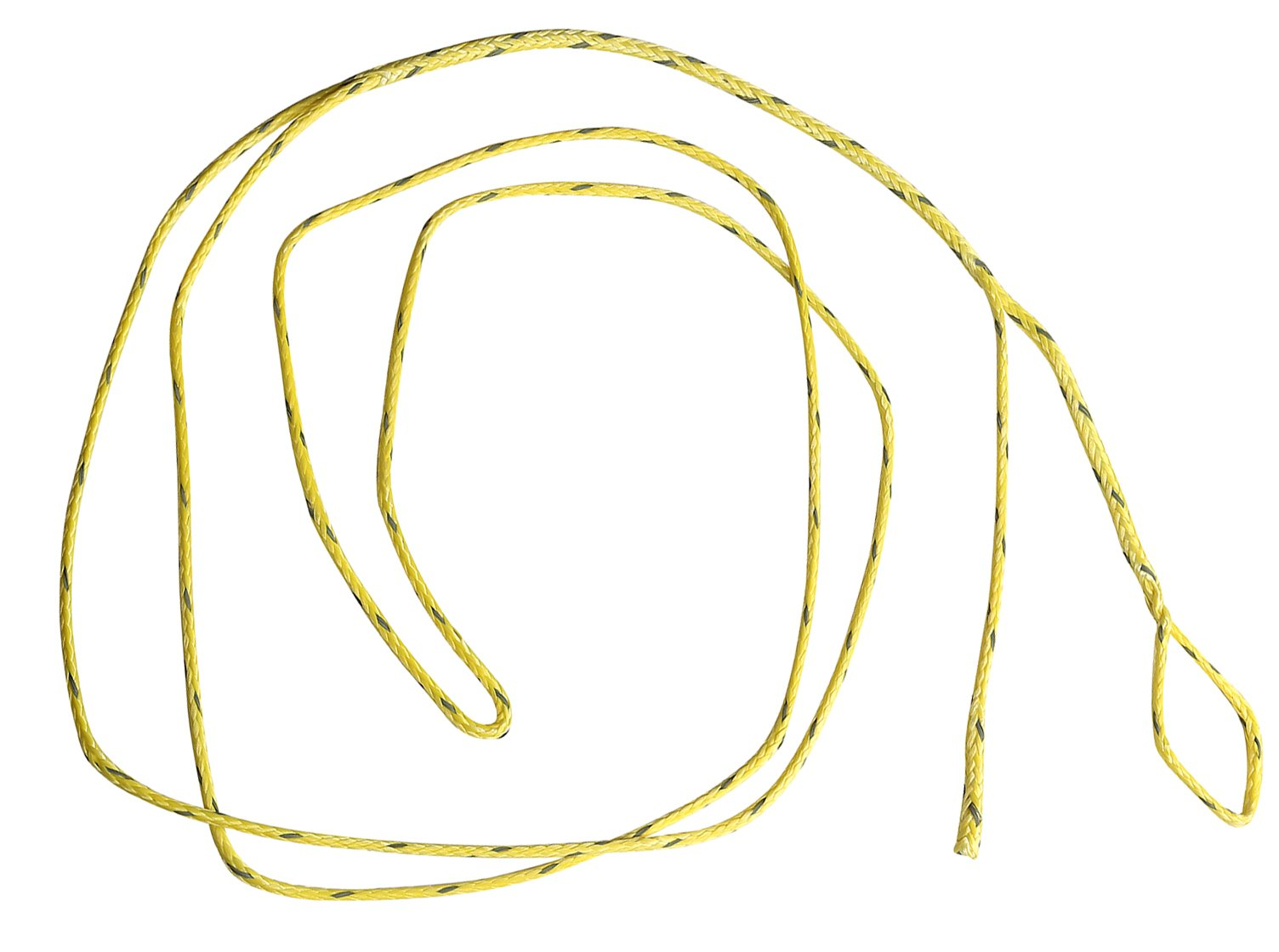Ymiss UHMWPE Hammock Whoopie Slings Set of 2 Adjustable Camping Ropes Yellow with Reflective Fleck Color