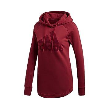 39e97fc6c9066 Adidas Sweat-Shirt à Capuche pour Femme Id Open Hem  Amazon.fr ...
