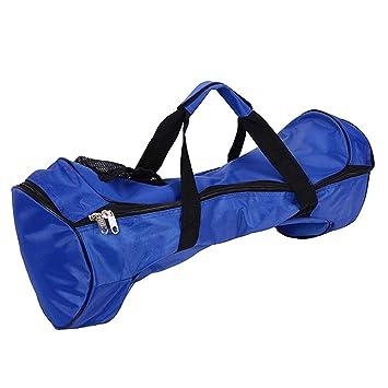 GDRAVEN 6.5 Hoverboard - Bolsa de Transporte para monopatín, Resistente al Agua, con Dos Ruedas, portátil, para Adultos, Color Negro, Azul: Amazon.es: ...
