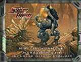 Starship Troopers - M-9 CHICKENHAWK MARAUDER SUIT miniature