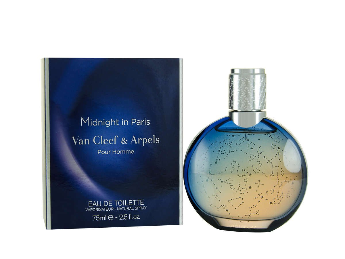 Van Cleef and Arpels Midnight In Paris Eau de Toilette Spray for Men, 2.5 Ounce