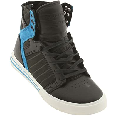 Image Unavailable. Image not available for. Color  Supra Skytop (Black Grey  Blue) 3cb2ba3ce