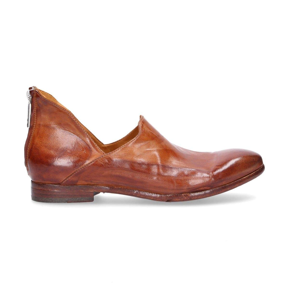 - LEMARGO Women's AI16ABROWN Brown Leather Loafers