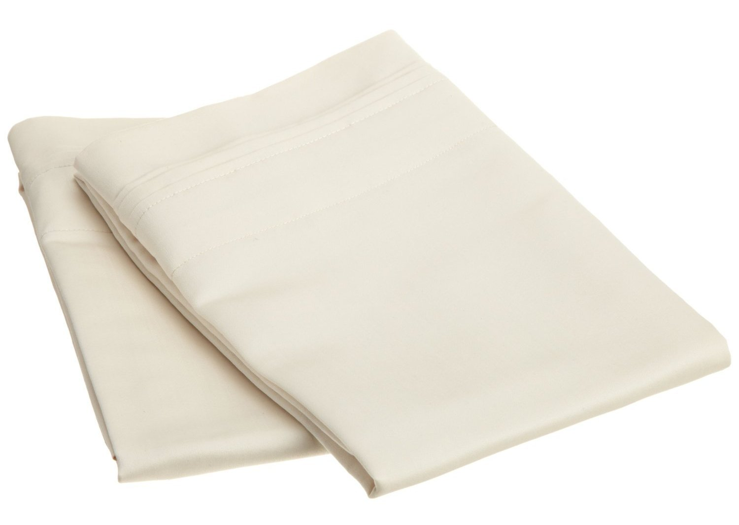1000 Thread Count 100% Premium Long-Staple Combed Cotton, Single Ply, King 2-Piece Pillowcase Set, Solid, White Luxor Treasures FBA_1000KGPC SLWH