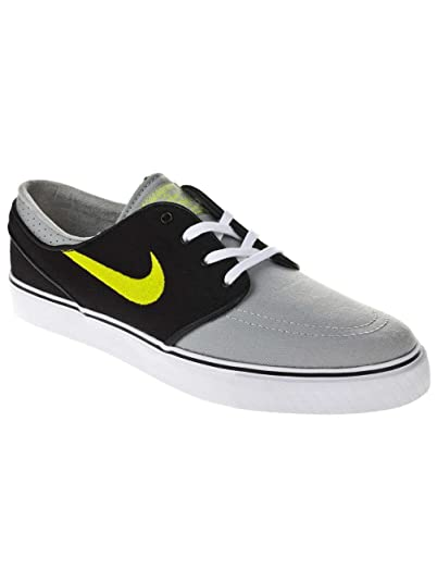 56f7f236eb4 ... canada nike zoom stefan janoski canvas grey black green skate shoes 9.5  84d1f 54fe0