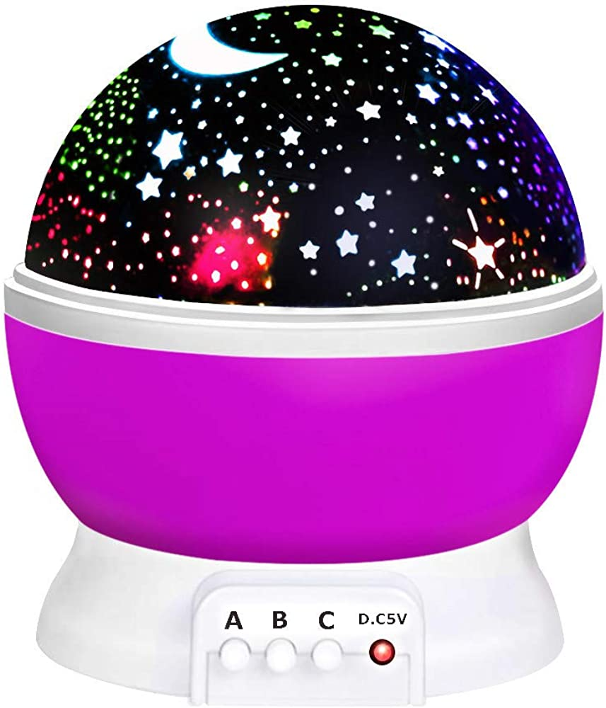 ATOPDREAM Amusing Moon Star Projector Light for Kids - Festival Gifts