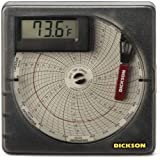 Dickson Temperature Chart Recorder with Digital Display, 7-Day or 24-Hour Rotation