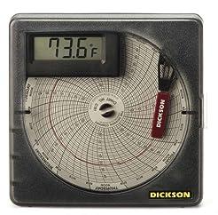 Dickson SL4350 Temperature Chart Recorde...
