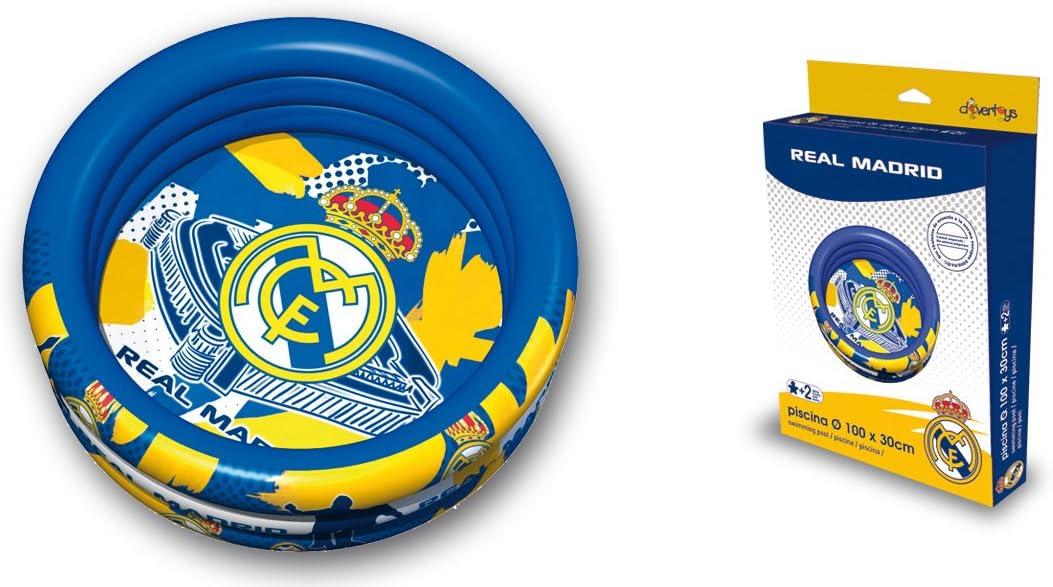 Real Madrid C.F. Unice 925006 - Piscina Hinchable 3 Anillos