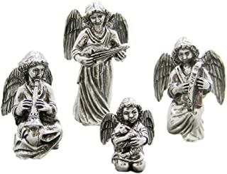 product image for DANFORTH - Angels Pewter Nativity Set - Handcrafted - Gift Boxed - Made in USA