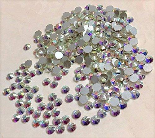 flat back swarovski crystals 6mm - 8