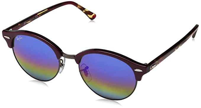 Amazon.com  Ray-Ban RB4246 1222 C2 Clubround Sunglasses 51mm  Ray ... 3826d8ed1be