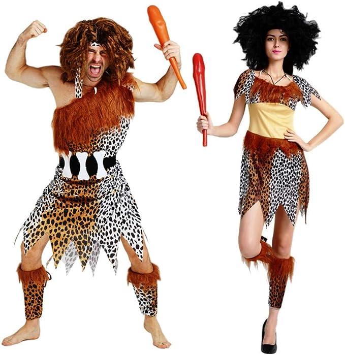 Maxim Party Supplies Men's Caveman Adult Costume Halloween (Men)