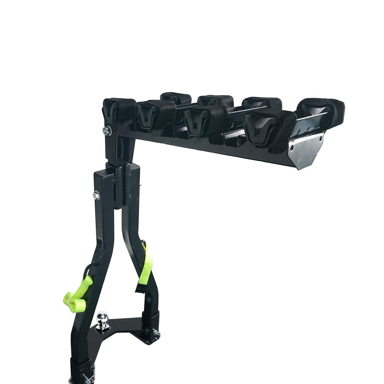 CyclingDeal A Frame Twin Pole 4 Bike Bicycle Tow Ball Car Rack Carrier
