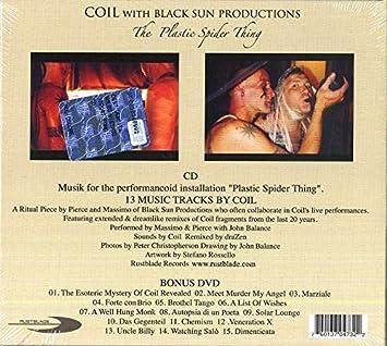 amazon plastic spider cd dvd coil black sun producti