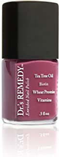 product image for Dr.'s Remedy Enriched Nail Polish, Brave Berry, 0.5 Fluid Ounce (Brave Berry)