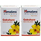 Himalaya Gokshura Men's Wellness Tablets - 60 Count (Pack of 2)