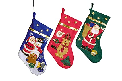 HSL - Set de 3 calcetines de Navidad