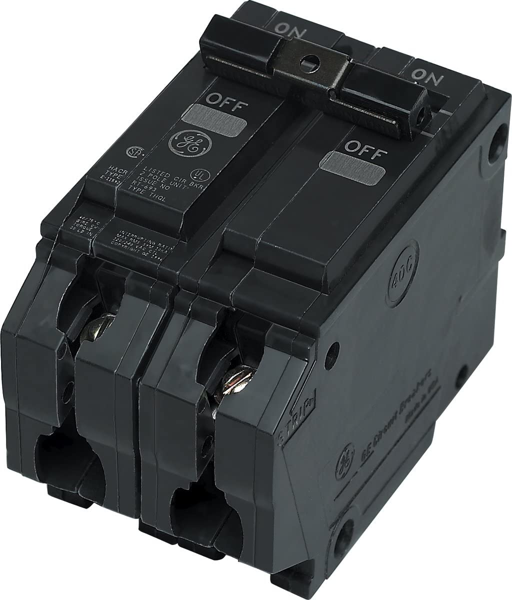 General Electric THQL2145 Circuit Breaker, 2-Pole 45-Amp Thick Series