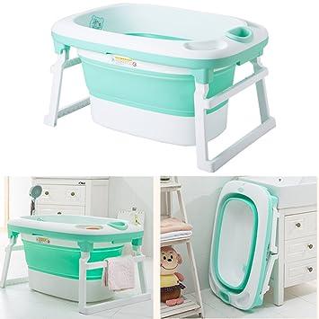 Amazon Com Newborn Baby Folding Bath Tub Baby Swim Tubs
