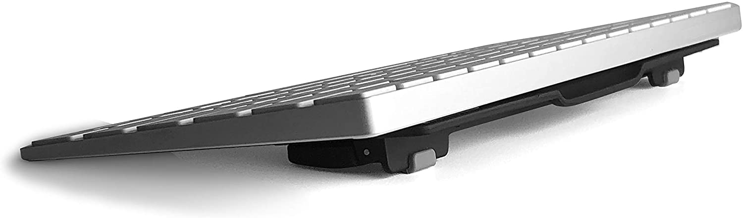 ESC Flip Computer Keyboard and Laptop Stand with 3 Adjustable Angles Fits Most Keyboards Keyboard Not Included