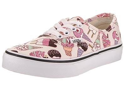 2678ff9e43 Vans Kids Authentic (Glitter Ice Cream) Skate Shoe  Amazon.co.uk ...