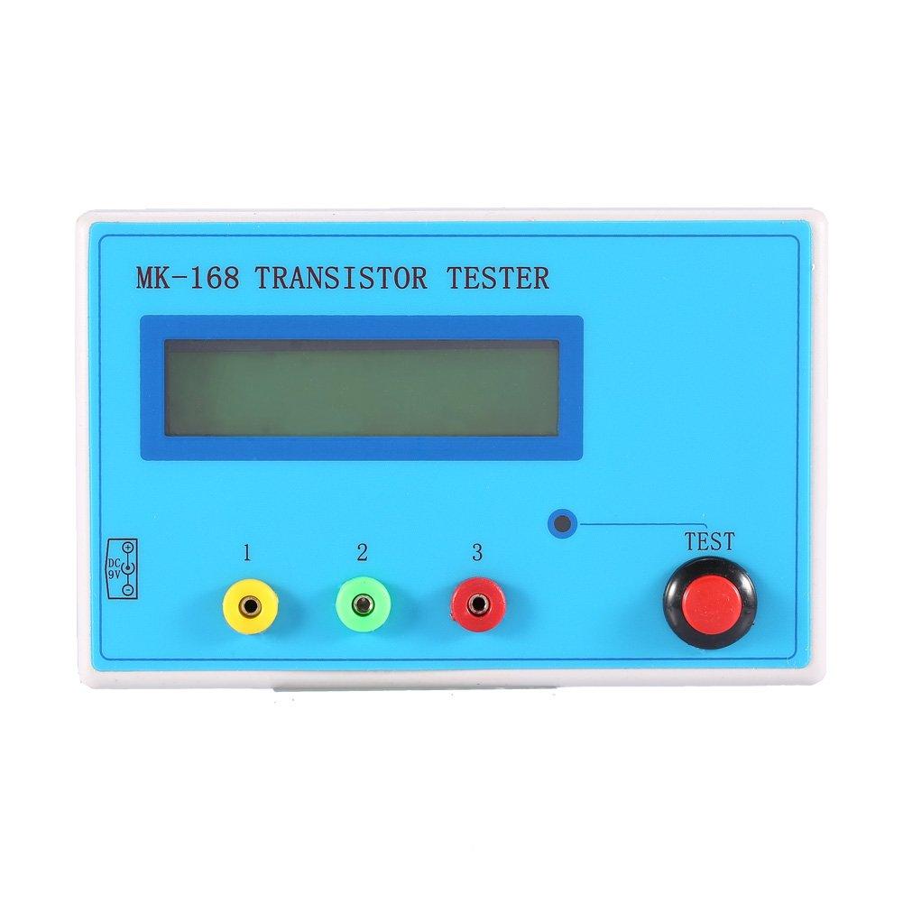 Yosoo Transistor NPN PNP MOSFET Diode Tester Capacitor ESR Resistor ...