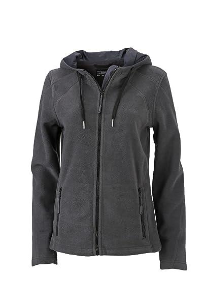 Chaqueta de lana a la moda con capucha Chaqueta Mujer: Amazon.es: Ropa y accesorios
