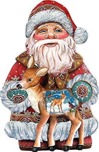 G. Debrekht Dearest Friend Santa Deco Ornament for sale  Delivered anywhere in USA